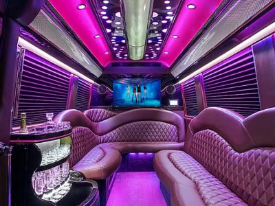 party bus coventry pink